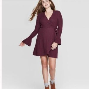 NWT Xhilaration | Long sleeve | Knit | Wrap Dress